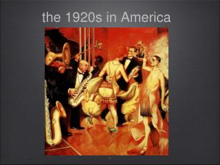 the 1920s in America