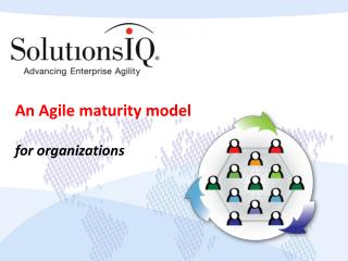 An Agile maturity model