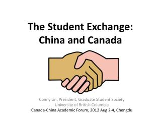 The Student Exchange:  China and Canada