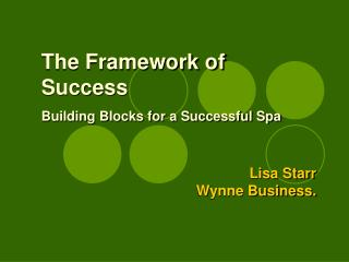 Lisa Starr Wynne Business.