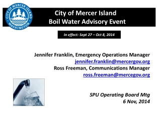 Joint Information Center JIC Operations  for Public Health Emergencies
