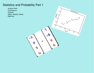 Statistics and Probability Part 1