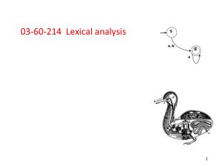 03-60-214  Lexical analysis