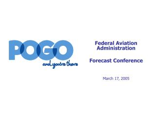 Federal Aviation Administration Forecast Conference