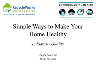 Simple Ways to Make Your Home Healthy