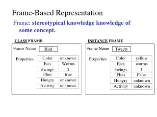 Frame-Based Representation
