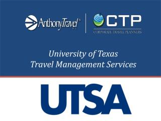 University of Texas  Travel Management Services