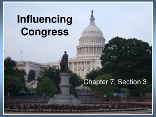 Influencing Congress