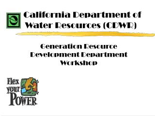 California Department of Water Resources (CDWR)