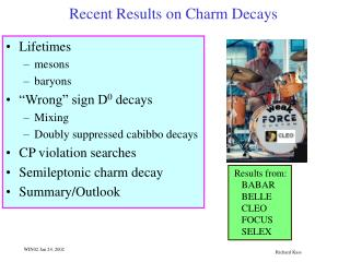 Recent Results on Charm Decays