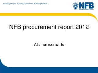 NFB procurement report 2012