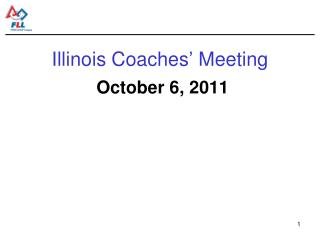 Illinois Coaches  Meeting