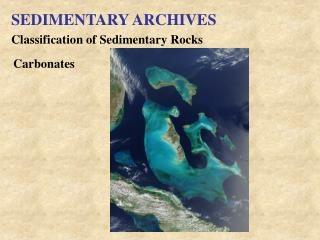 SEDIMENTARY ARCHIVES