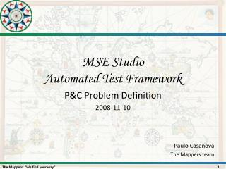 MSE Studio Automated Test Framework