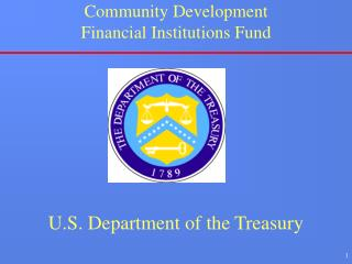 Community Development Financial Institutions Fund