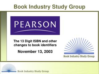 Book Industry Study Group