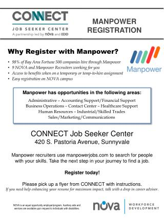 ManPOWER REGISTRATION