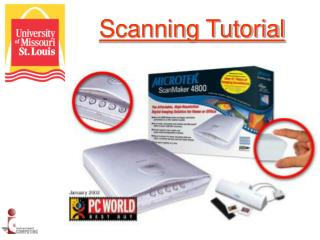 Scanning Tutorial
