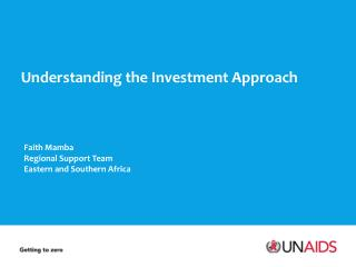 Understanding the Investment Approach
