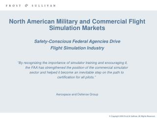 Aerospace and Defense Group