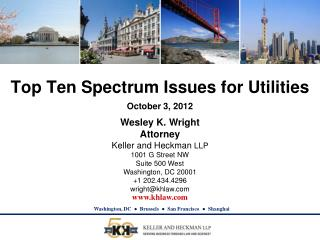 Top Ten Spectrum  Issues for Utilities