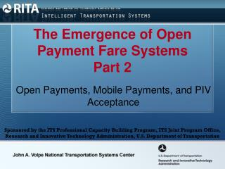 The Emergence of Open Payment Fare Systems Part 2