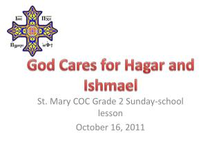 God Cares for Hagar and Ishmael