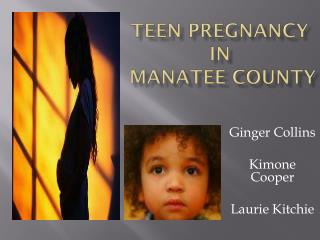 Teen Pregnancy  IN  Manatee County