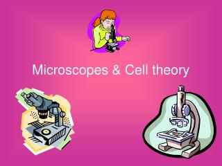 Microscopes & Cell theory