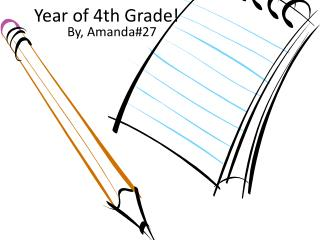 Year of 4th Grade!