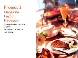 Project 2 Magazine Layout Redesign