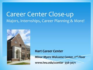 Career Center Close-up