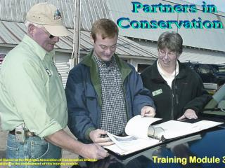 Partners in  Conservation