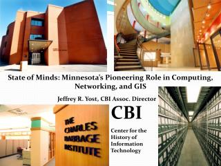 CBI Center for the History of  Information Technology
