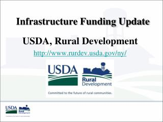 Infrastructure Funding Update