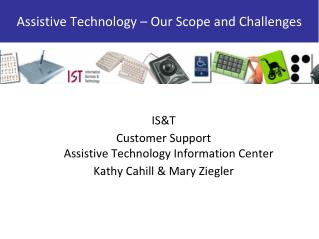 Assistive Technology – Our Scope and Challenges