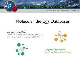 Molecular Biology Databases