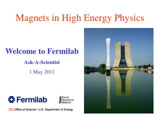 Magnets in High Energy Physics