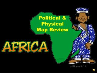 Political & Physical Map Review