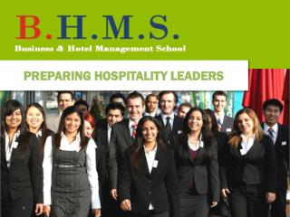 PREPARING HOSPITALITY LEADERS