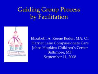 Guiding Group Process  by Facilitation