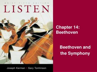Chapter 14: Beethoven
