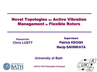 Novel Topologies  for  Active Vibration Management  in  Flexible Rotors