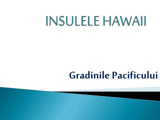 INSULELE HAWAII