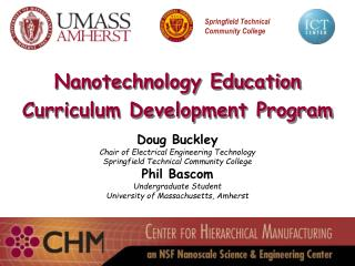 Nanotechnology Education Curriculum Development Program