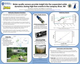 Water quality sensors provide insight into the suspended solids