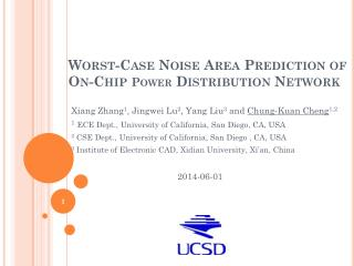 Worst-Case Noise Area Prediction of On-Chip  Power  Distribution Network