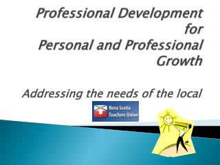 Professional Development for Personal and Professional Growth