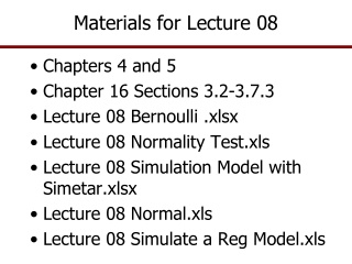 Materials for Lecture 08