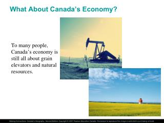 What About Canada's Economy?